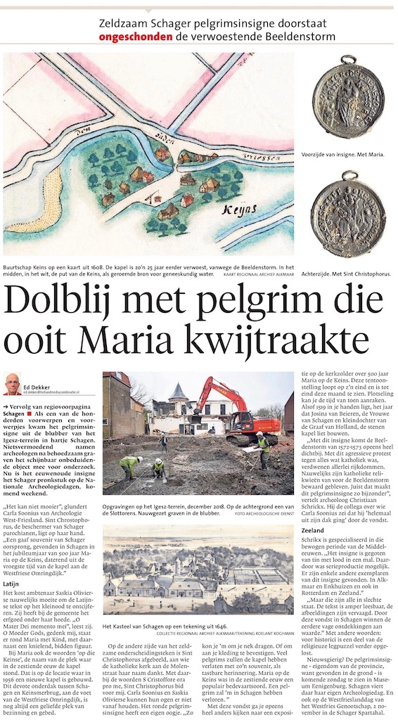 Noordhollands Dagblad 10 oktober 2019 2